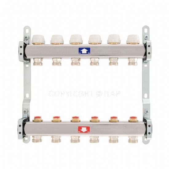 Itap Padlófűtés 1'' x 3/4'' x 11 Osztó-gyűjtő áramlásmérő nélkül