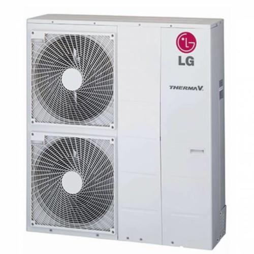 LG Therma-V HM143M Monoblokkos Levegő-víz Hőszivattyú 14 kW + ajándék hőhordozó