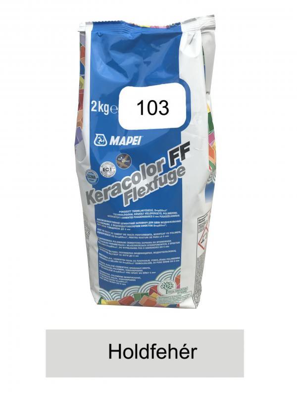 Mapei Keracolor FF Flex 103 holdfehér fugázó 2 kg