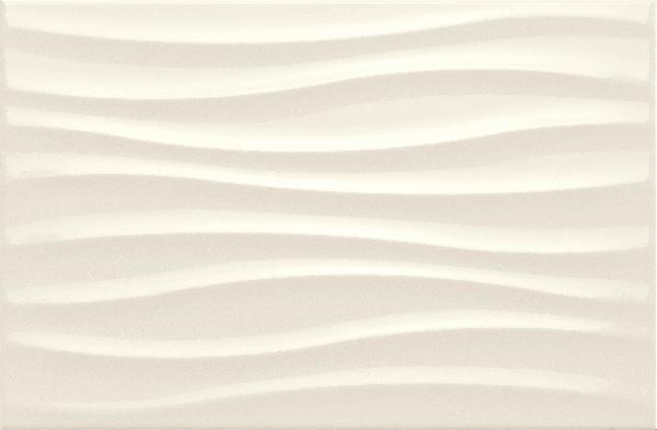 Marazzi Chroma Ivory hullámos dekor 25x38