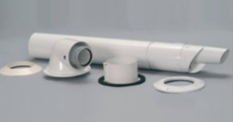 Oldalfali kivezető készlet 100/60 mm (0020084572 cikkszám helyett)