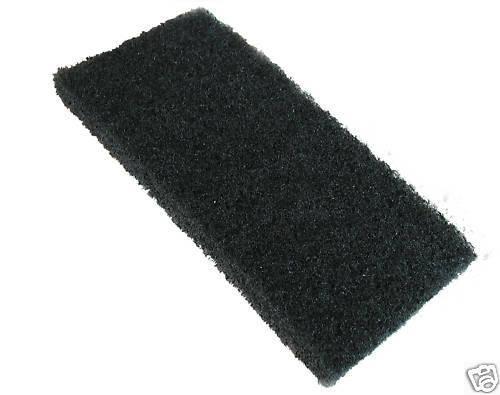RAIMONDI fugázó szivacs 250x120x20mm Fekete
