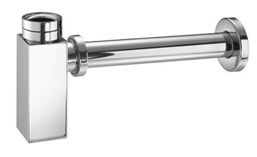 Robor Design szögletes mosdó szifon 1'' 1/4 (Art. 452)