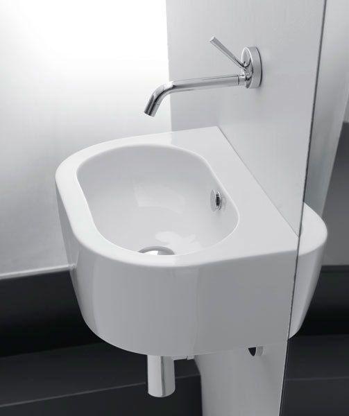 Sapho Kerasan Flo mosdó 50x32 cm, CSAPLYUK NÉLKÜLI!!!