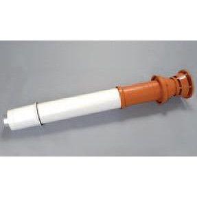 SAUNIER DUVAL Füstgázkivezető tetőelem 60/100 mm, L=1000mm (vörös) (0020230605)