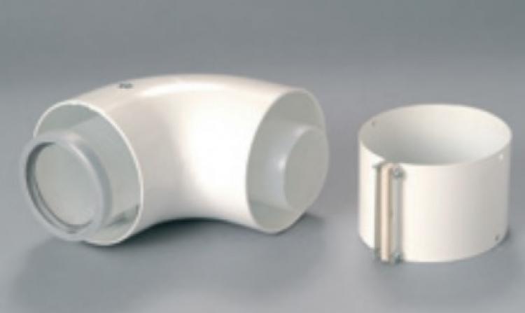 SDC toldó könyökidom 90° 100/60 mm (korábbi A2032900 helyett)