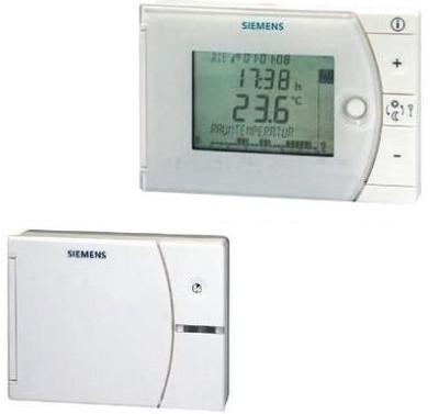 Siemens szobatermosztát rádiófr. prog.