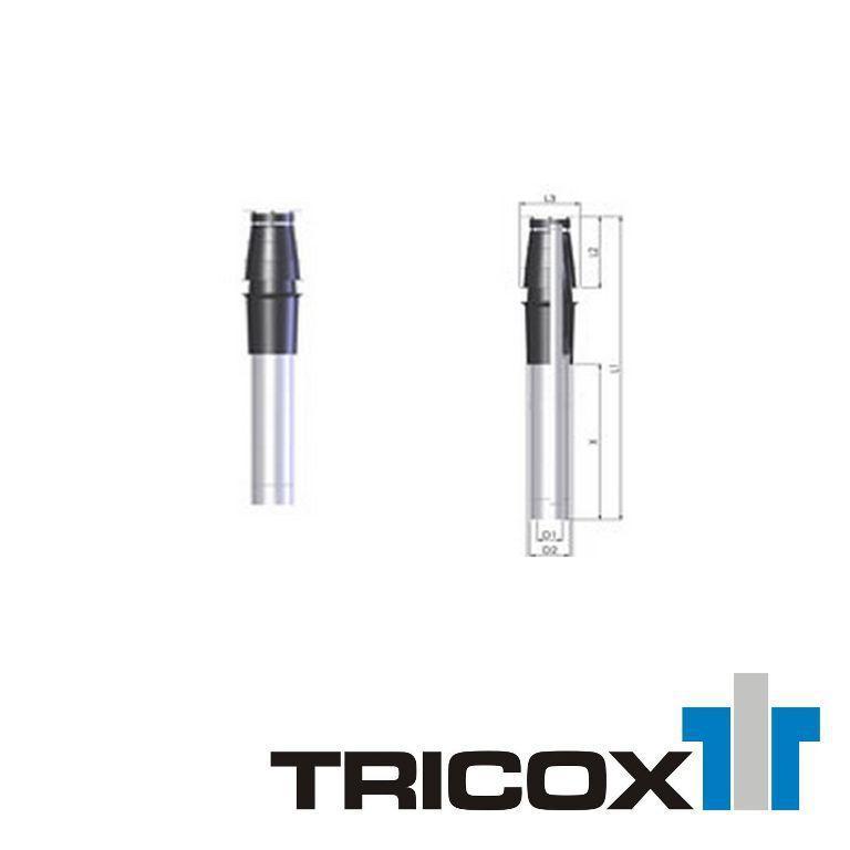 TRICOX AATA60 tető átvezetés 80/125