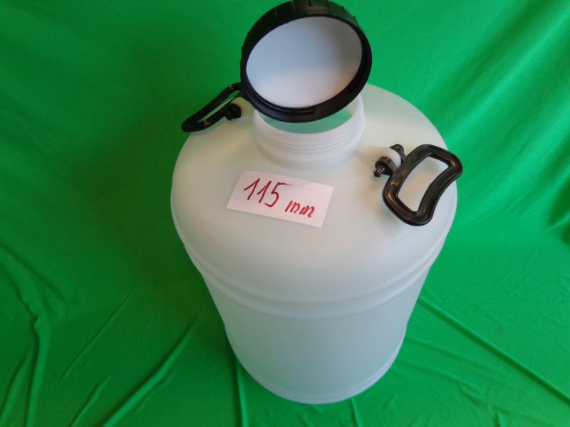 Ballon 50 l   szájnyílás 115 mm