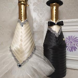Esküvői és alkalmi pezsgősüvegek