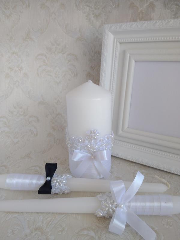 Esküvői gyertya szett, exkluzív