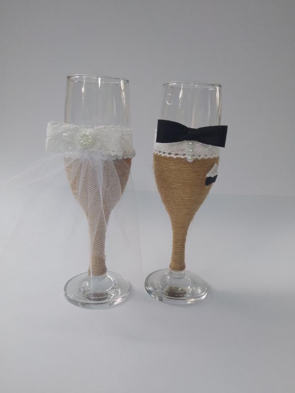 Esküvői pohár vintage