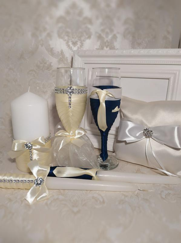 Garnitúra esküvőre, vanília