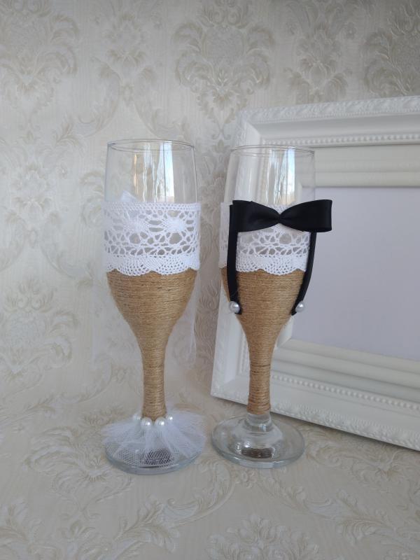 Pezsgőspohár esküvőre