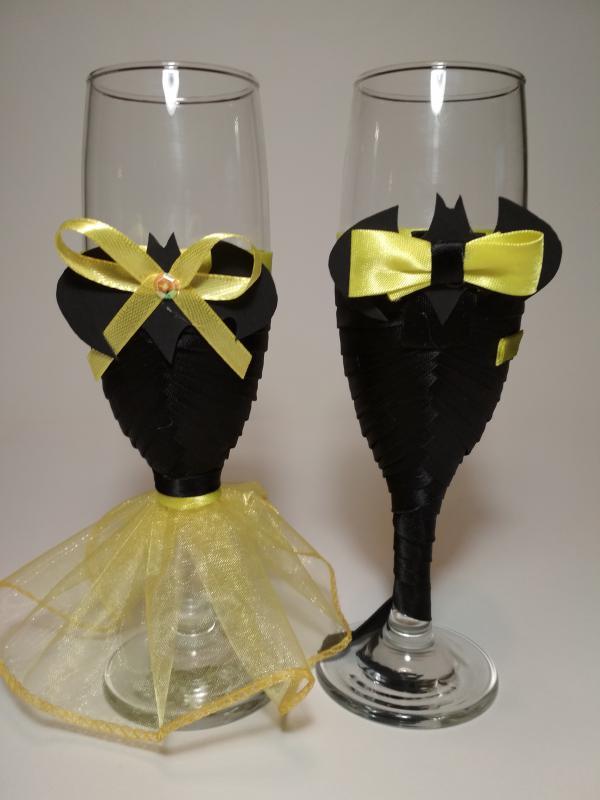 Pezsgőspohár esküvőre, Batman