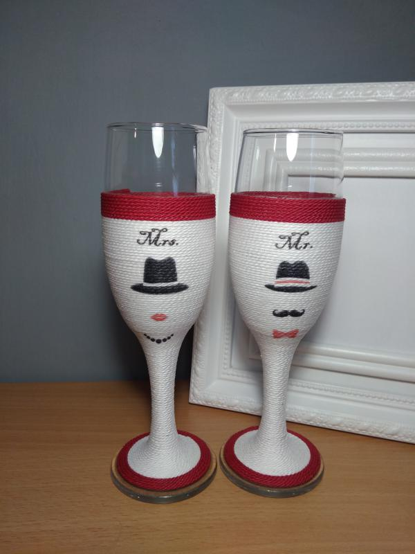 Zsinóros pohár pároknak
