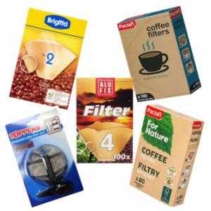 Kávéfilterek (Tartós, Papír)