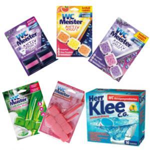 WC tisztító termékek