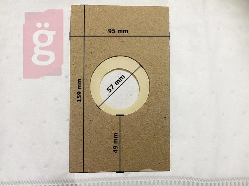 60x38HU Invest mikroszálas porzsák (4db/csomag)