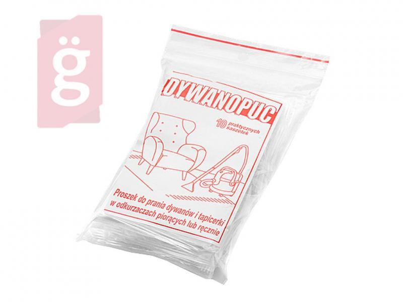 Dywanopuc Szőnyegtísztító por gépi vagy kézi tísztításhoz (10db/csomag) 90g