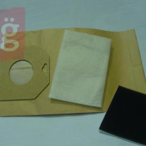 IZ-PH2.2F Invest Philips Oslo papírporzsák (5db+2filter/csomag)