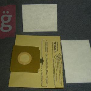 Zelmer 2000 papírporzsák (5db+2filter/csomag)