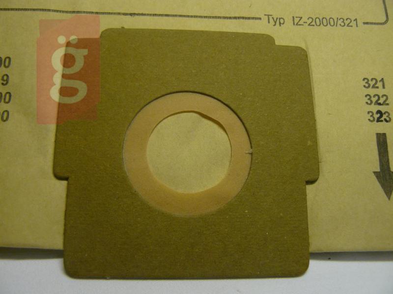 IZ-2000/321 IZ-321.0081 ZELMER Flip Cobra stb. papír porzsák (5db/csomag)