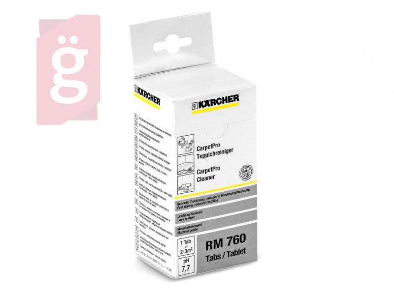KARCHER RM 760 CarpetPro kárpittisztító tabletta 16db 6.295-850.0