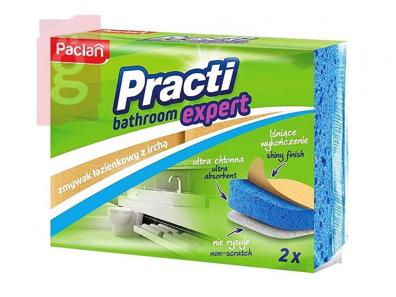 Paclan Practi Bathroom Expert Szivacs 2db/csomag (Fürdőszoba tisztítására ajánlott)