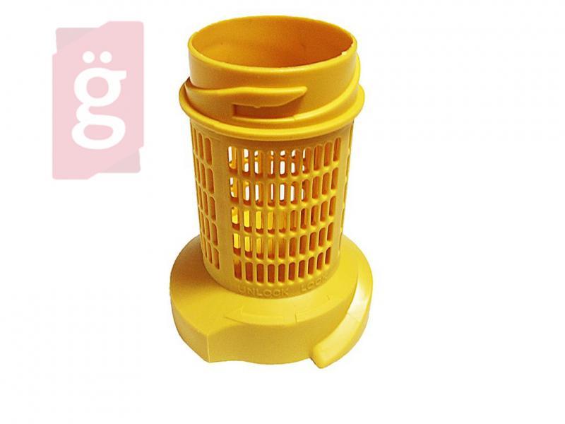 Porszívó Előszűrő Ciklon Tartály Ciklonszűrő sárga Gégecsőre Samsung DJ6400159A (DJ9700625E Tartály