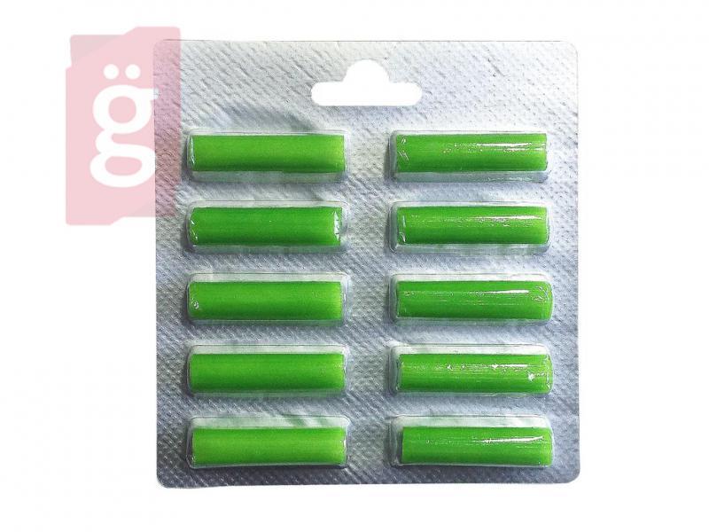 Porszívó porzsák illatosító rúd Green Virág illat (10db/csomag)