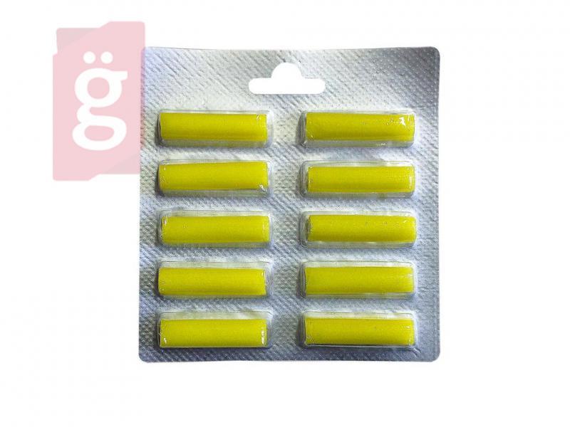 Porszívó porzsák illatosító rúd Yellow Citrom illat (10db/csomag)