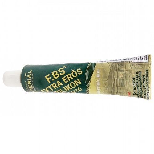 Tömítőpaszta FBS szilikonos ragasztó és tömítő tubusos kiszerelés (70ml)