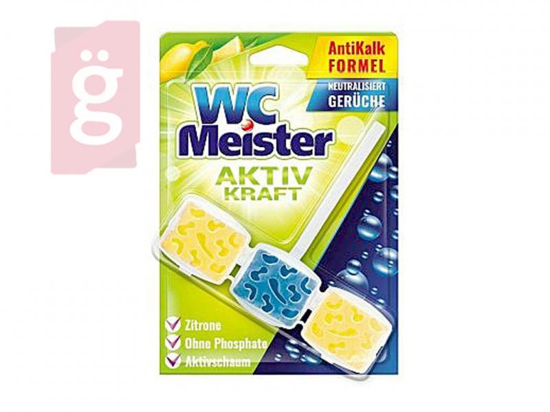 WC Meister Wc Illatosító Tisztító Block - Lemon 45g
