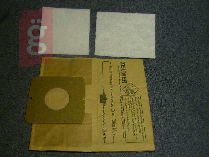 Zelmer Orion Twister Twist stb.papírporzsák (5db+2filter/csomag)