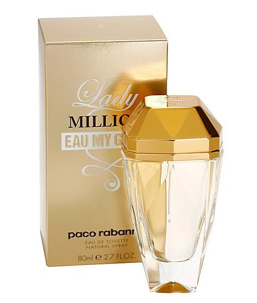 6b6c007092 Paco Rabanne Lady Million Eau My Gold EDT 80ml parfüm nőknek ...