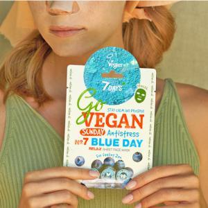 7Days GoVegan szépségmaszk - Vasárnap - A Zen érzésért