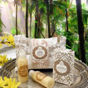 Nesti Dante Gold travel kit - utazó csomag