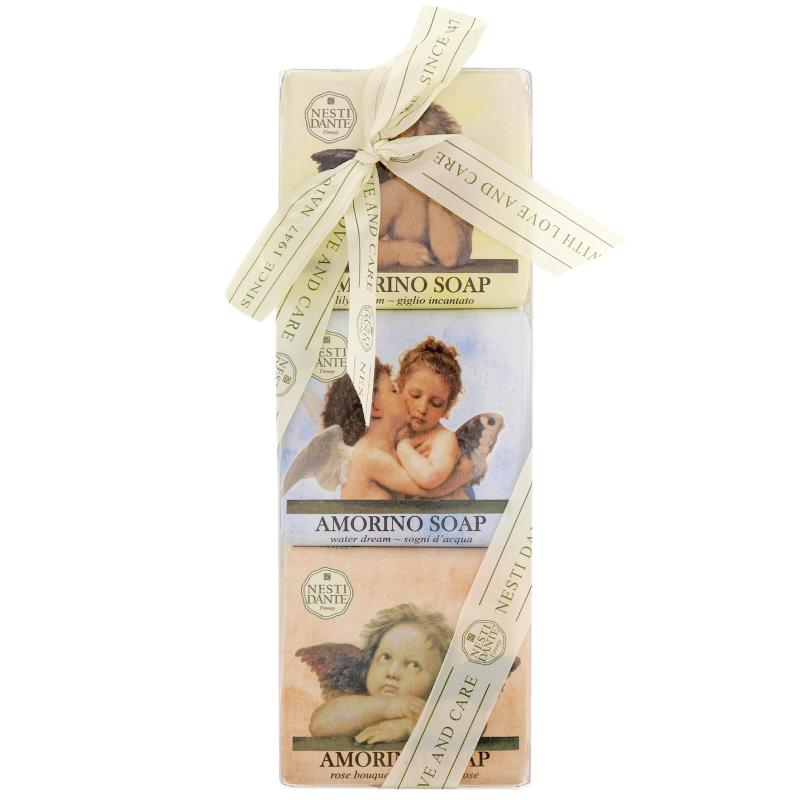 Nesti Dante ajándékszett - Amorino - angyalos szappanok 3 x 150 gr