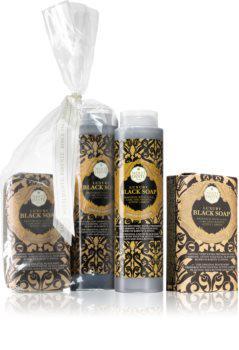 Nesti Dante ajándékszett - Black szappan + tusfürdő
