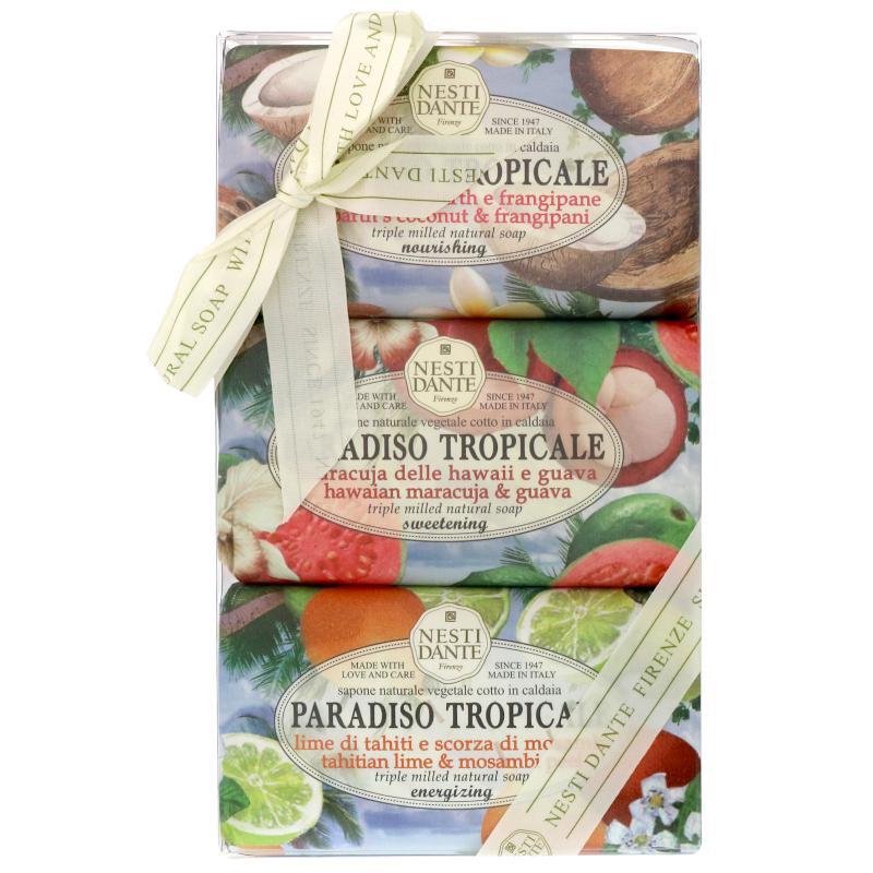 Nesti Dante ajándékszett - Paradiso Tropicale set - 3 x 250 gr