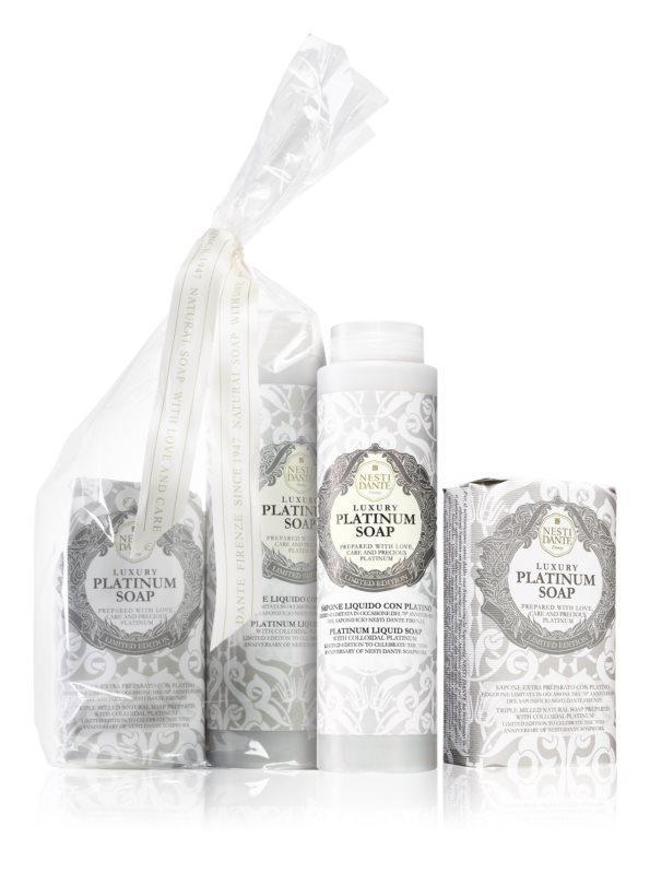 Nesti Dante ajándékszett - Platinum szappan + tusfürdő