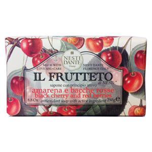 Nesti Dante Amarena (fekete cseresznye) - piros gyümölcs natúrszappan - 250 gr