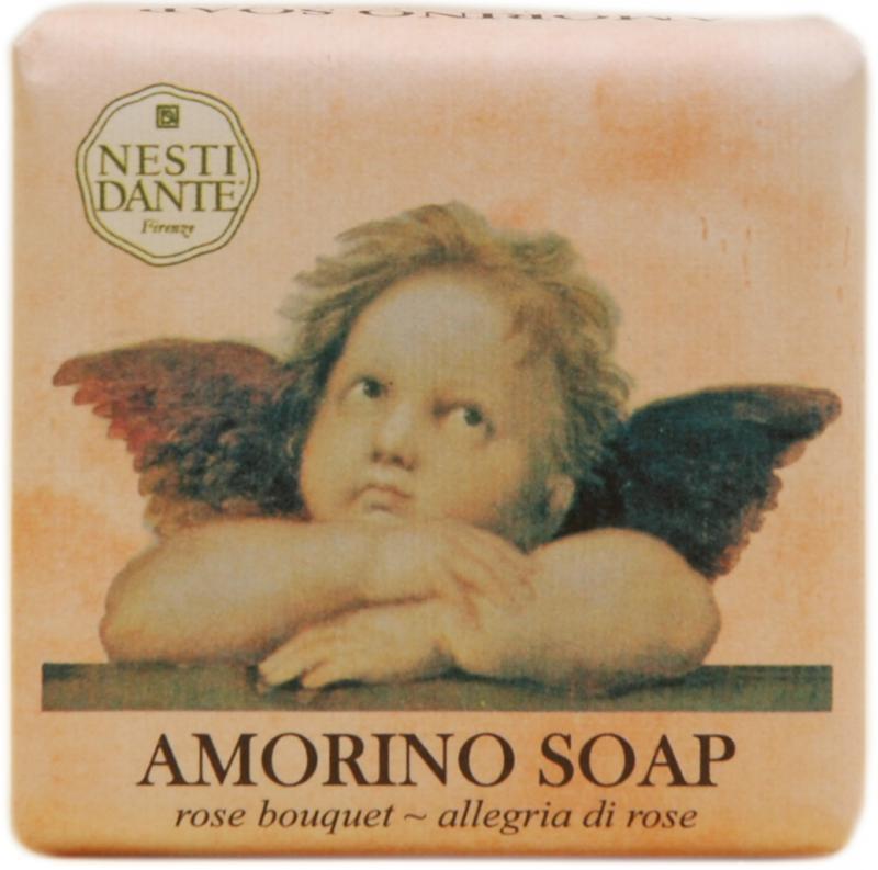 Nesti Dante Amorino Rose Bouqet - Rózsacsokor natúrszappan - 150gr