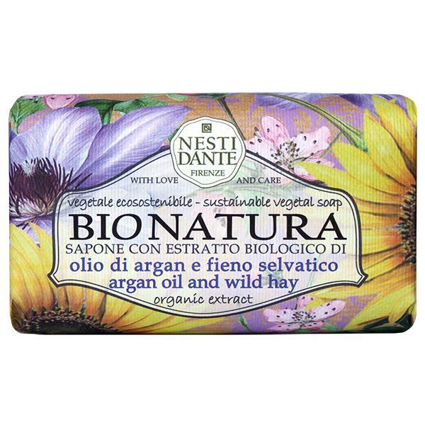 Nesti Dante BioNatura - Argan olaj-széna natúrszappan - 250 gr