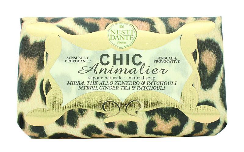 Nesti Dante Chic Animalier - Bronze natúrszappan - 250 gr