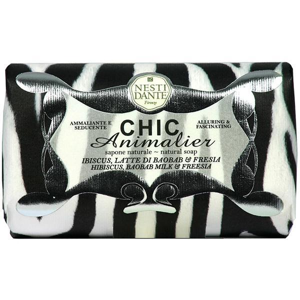 Nesti Dante Chic Animalier - White natúrszappan - 250 gr