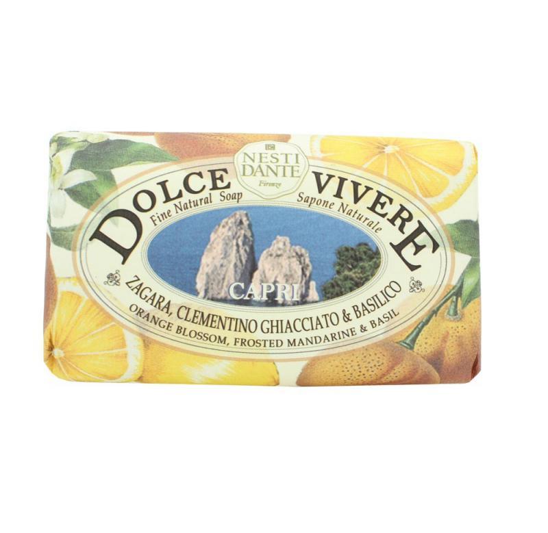 Nesti Dante Dolce Vivere - Capri natúrszappan - 250 gr