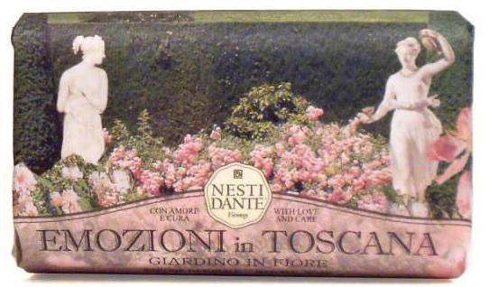 Nesti Dante Emozioni in Toscana -Virgázó kert natúrszappan - 250 gr