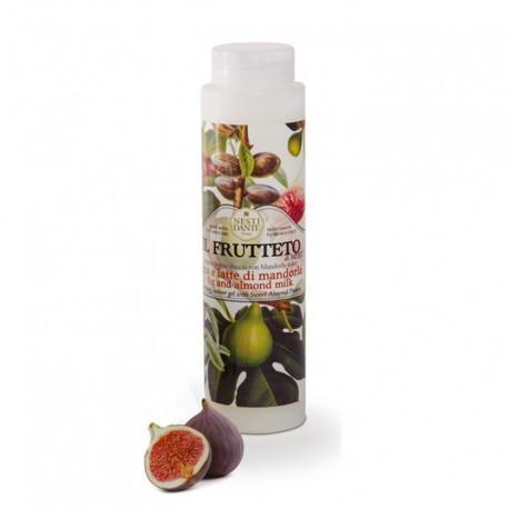 Nesti Dante Il frutteto Fig and Almond Milk - Füge-mandulatej hab- és tusfürdő - 300 ml